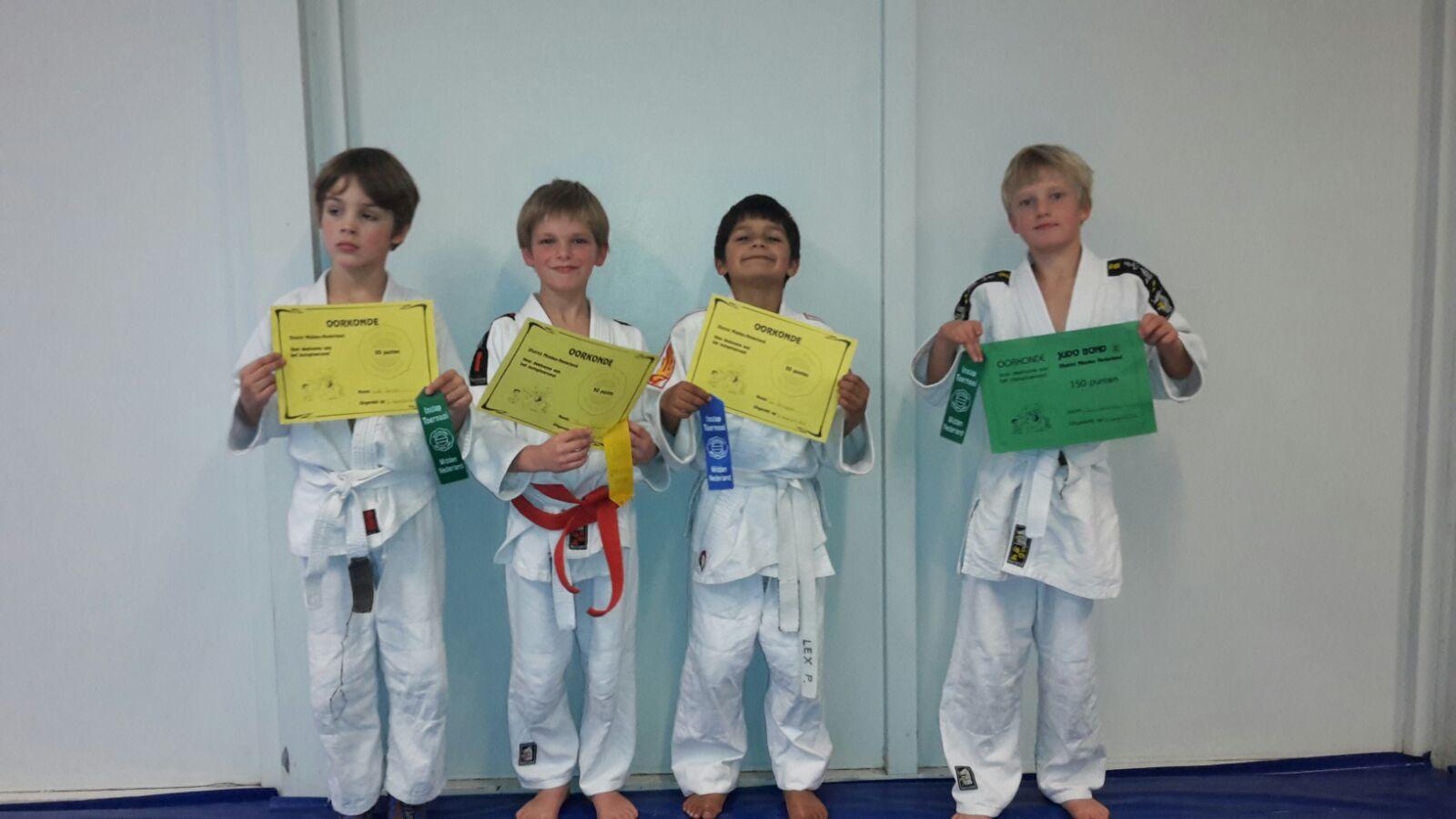 Verslag Judo instap toernooi Arnhem