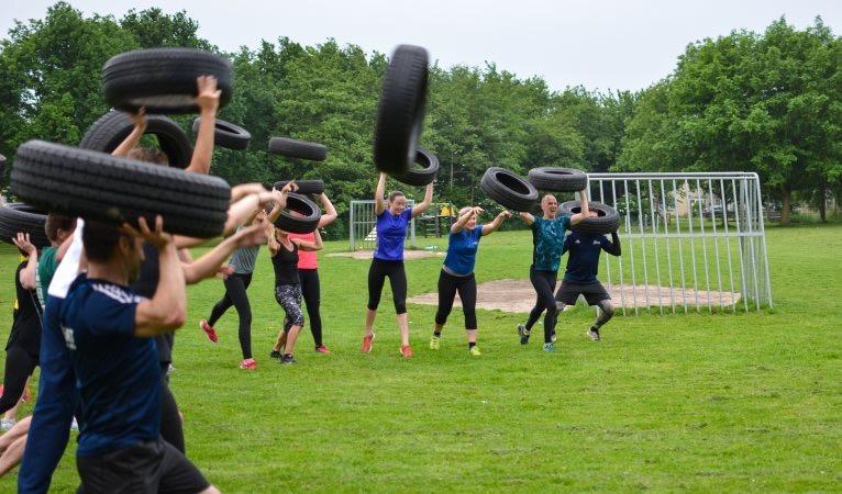 Samen buiten sporten! Bootcamp bij WIK