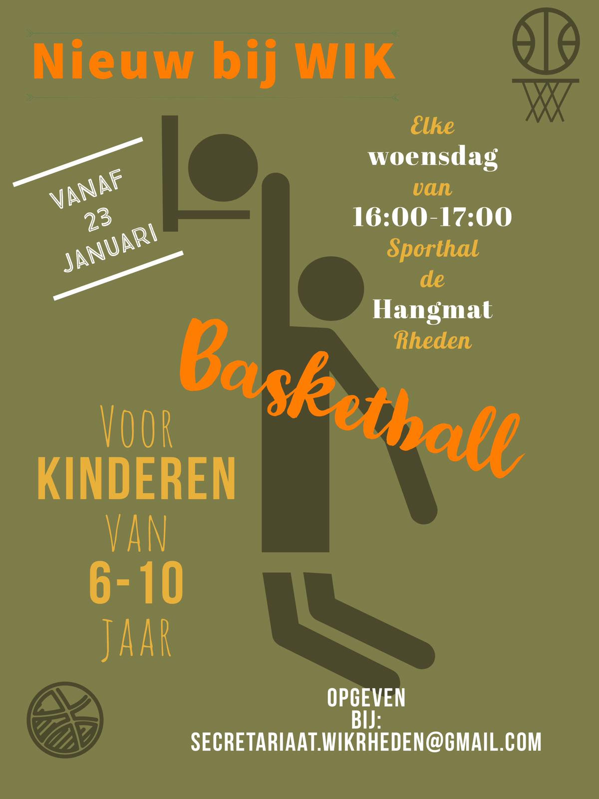 Basketball bij WIK