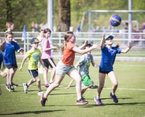 Woensdagmiddag bij WIK sport en spel buiten voor de jeugd (ook voor niet leden)